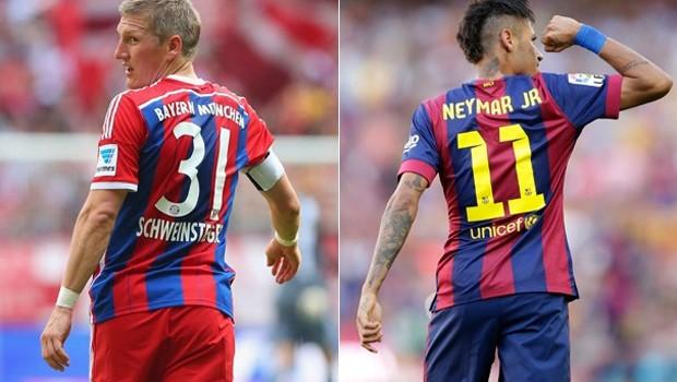 Bayern de Munique  Barcelona (Foto: Reprodução/ Globoesporte)