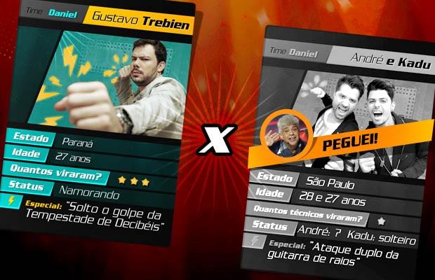 card batalha (Foto: The Voice Brasil/TV Globo)