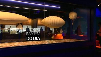Museu do Amanhã recebe exposição sobre Santos Dumont