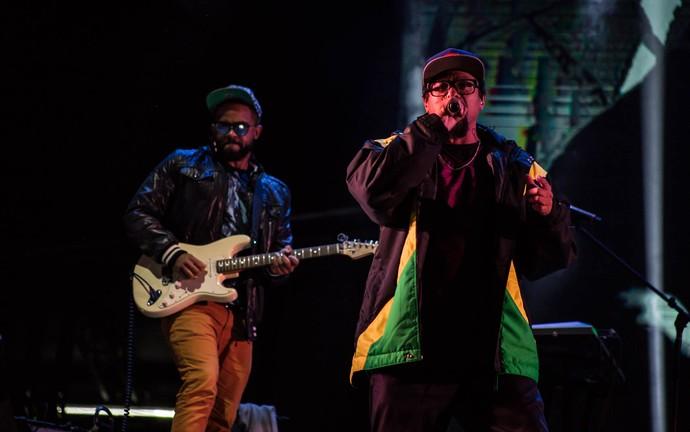Black Alien estreia no palco do festival João Rock (Foto: Mateus Rigola/Gshow)
