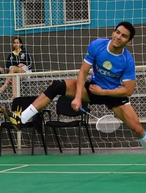 Lucas Alves, uma das apostas do Piauí no Badminton, participa de semana de avaliação no CT da Seleção Brasileira, em Campinas (Foto: reprodução/FACEBOOK)