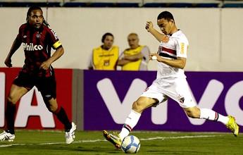 Na memória: Ricardo Oliveira brilha  em goleada tricolor sobre o Palmeiras