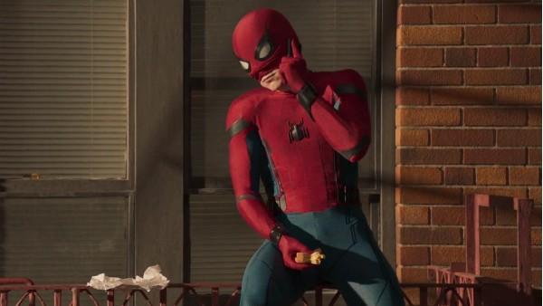 Uma cena do novo filme do Homem-Aranha (Foto: Reprodução)