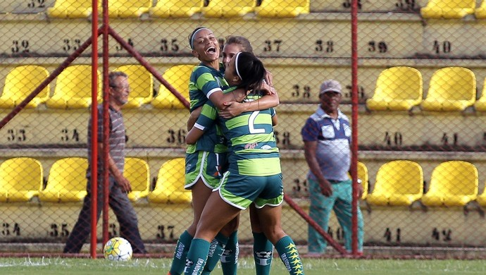 Iranduba vence Audax-SP futebol feminino (Foto: Daniel Vorley/All Sports)