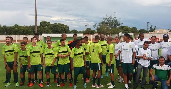 Gurupi apresenta elenco e comissão técnica  (Foto: Jairo Santos/ TV Anhanguera )