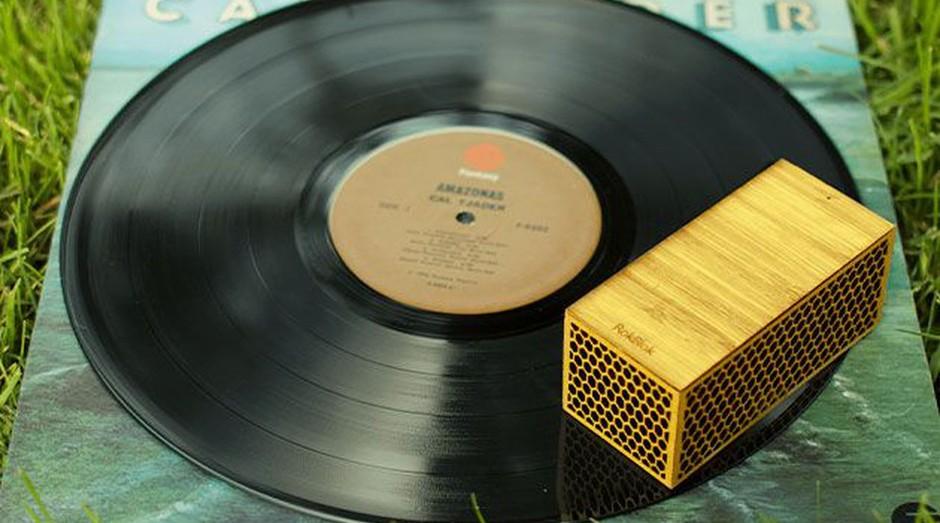 RokBlok, o aparelho que gira em torno do disco de vinil sem nenhum ajuda (Foto: Reprodução/RokBlok)