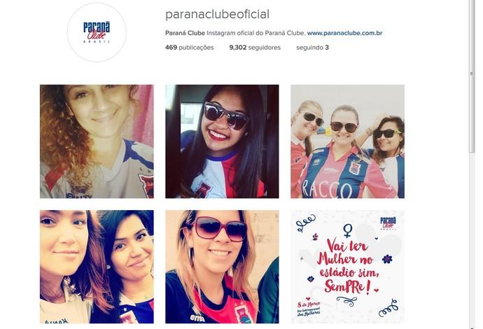 Paraná mulheres (Foto: Reprodução/Instagram)