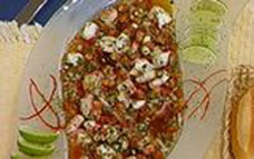 Salada de Polvo ao Vinagrete