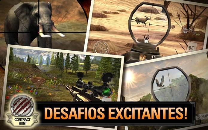 Deer Hunter 2014 tem bons gráficos até em aparelhos de baixo poder de processamento (Foto: Divulgação)
