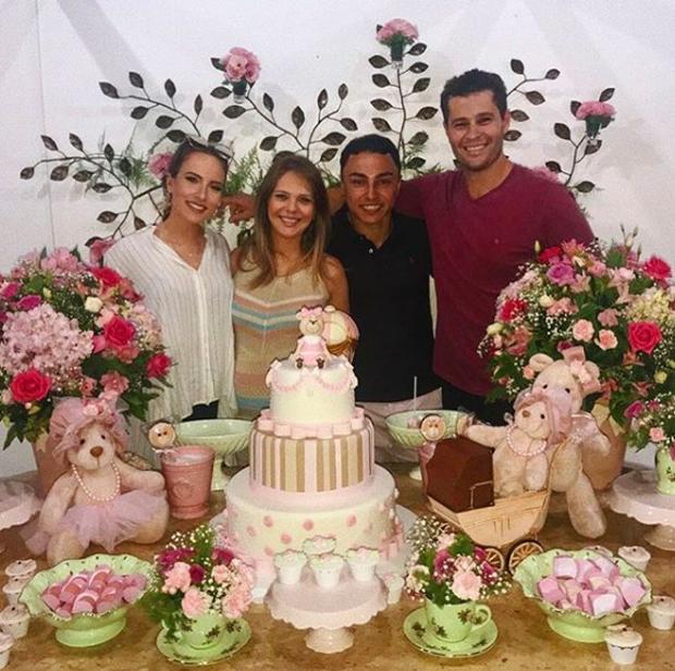Rafaela Lima, Thais Gebelein, Bam Rocha e Pedro Leonardo  (Foto: Reprodução)