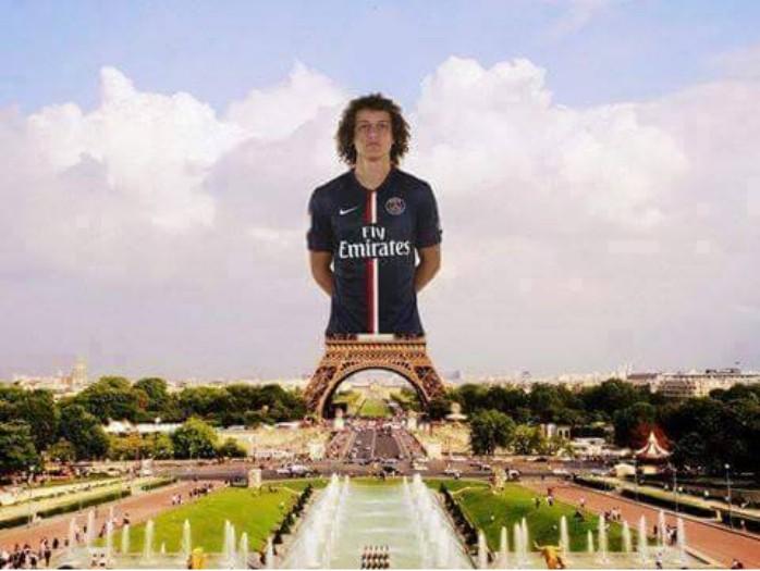 Zoação na web David Luiz