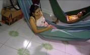 Em Belém, membros de toda a família não abrem mão de dormir na rede (Reprodução/TV Liberal)