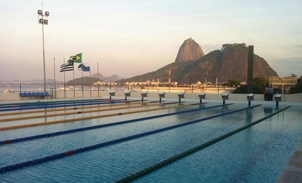 Piscina do Mourisco, no Botafogo