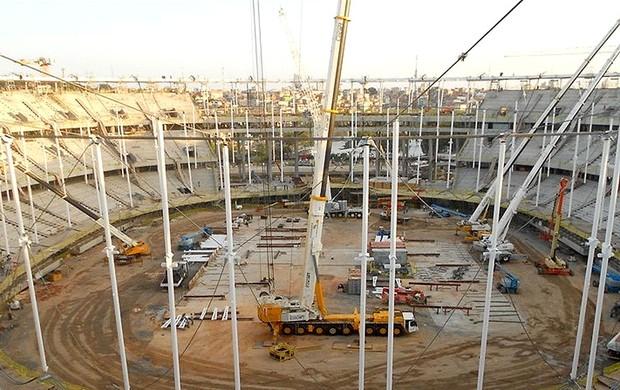 obras estádio Fonte Nova Copa do Mundo 2014 (Foto: Arena)