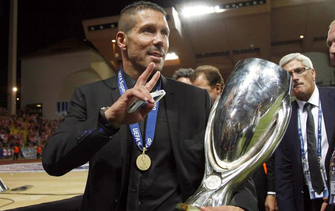 Diego Simeone técnico Atlético de Madri (Foto: Reuters)