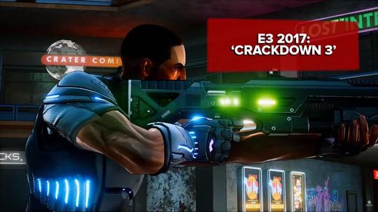 'Crackdown 3' é mesquinho na destruição, mas sensação de força e independência pode compensar; G1 jogou