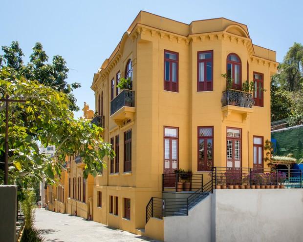 Fachada Casa Cor (Foto: Andre Nazareth / Casa Cor Rio)