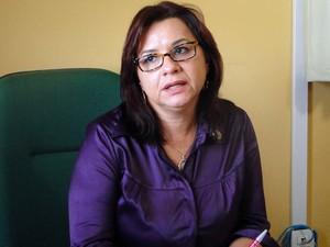 Maria do Perpétuo Socorro Nogueira Lima, secretária de Saúde de Natal (Foto: Ricardo Araújo/G1)
