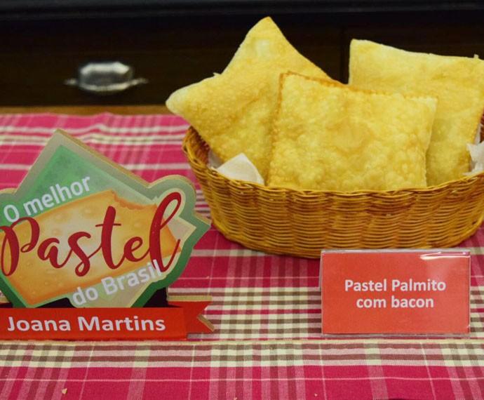 Pastel de Palmito com Bacon