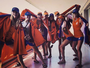 Trabalho duro, selfies e biquíni na Vila: a primeira semana da Holanda no Rio