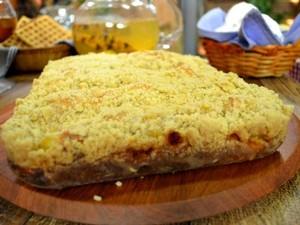 Cuca Alemã Rechada do Anonymus Gourmet (Foto: Adam Scheffel/RBS TV)