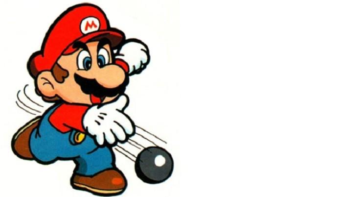 A roupa mais sem graça do Mario (Foto: Reprodução)