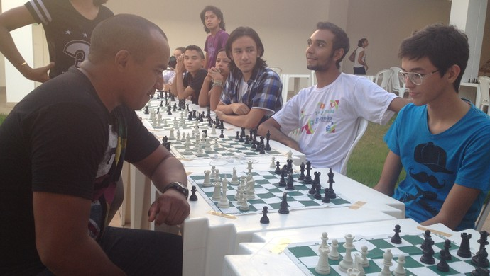 Amapaense irá participar do Campeonato Continental de Xadrez (Foto: Jonhwene Silva-GE/AP)