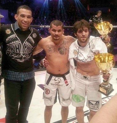 Fabricio Werdum, Samuel Trindade, Rússia, MMA (Foto: Arquivo pessoal)