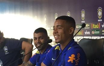 """Gabriel Jesus admite que está perto de sair do Palmeiras: """"Quase definido"""""""