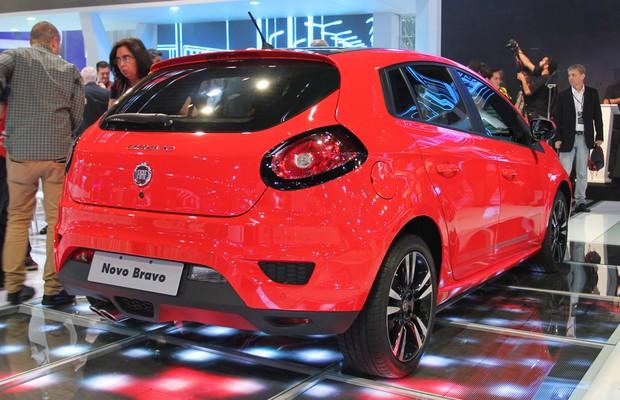 Fiat Bravo no Salão do Automóvel 2014 (Foto: Gustavo Maffei/Autoesporte)
