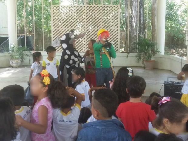 combate, dengue, chikungunya, ação, crianças, escola, Amapá, Macapá (Foto: Jéssica Alves/G1)