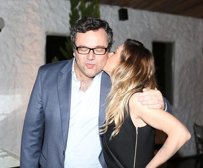 João Emanuel Carneiro e Amora Mautner  (Foto: Isabella Pinheiro/Gshow)