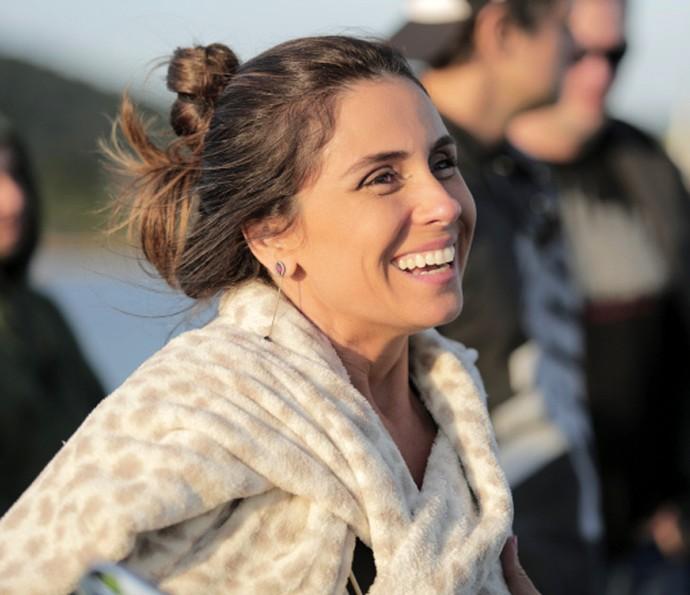 Giovanna Antonelli conversa com o Gshow sobre seu novo papel (Foto: Lydio Cerqueira/Gshow)