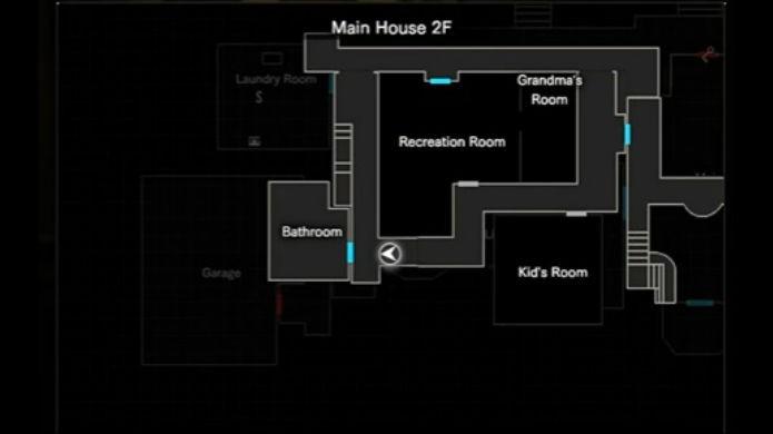Resident Evil 7: Pegue a estátua nessa sala (Foto: Reprodução/Thomas Schulze)