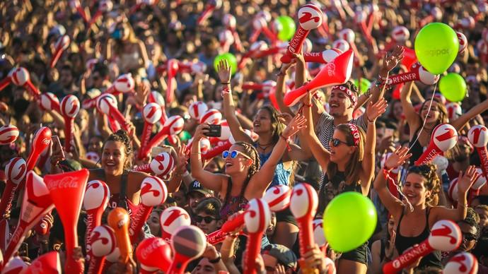 Planeta Atlântida reuniu 80 mil pessoas em dois dias (Foto: Jefferson Bernardes / Agência Preview )