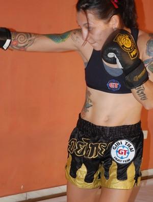 Kalindra Faria, lutadora de MMA (Foto: Divulgação/Arquivo Pessoal)