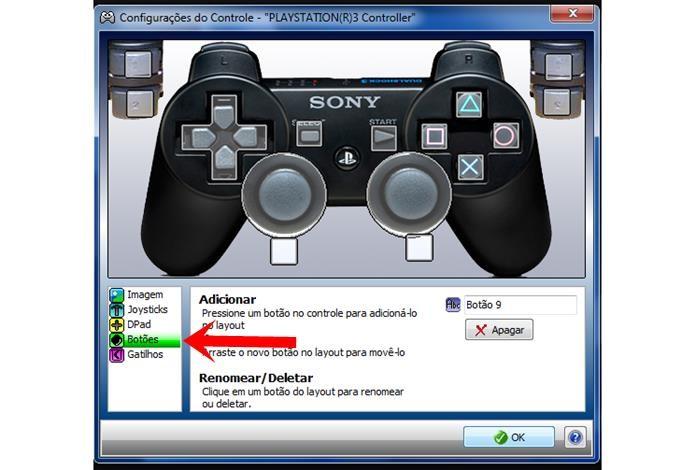 Ao término da configuração dos botões, o Xpadder vai exibir seu controle dessa forma (Foto: Reprodução / Dario Coutinho)