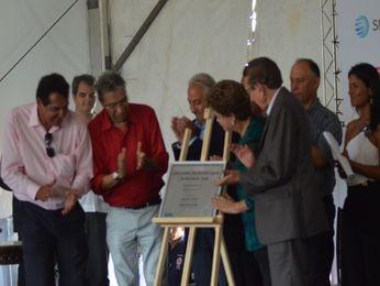Inauguração do Parque Eólico de Sergipe (Foto: Flávio Antunes/ G1 SE)