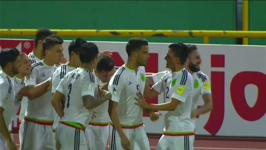 México vence Trinidad e Tobago e se mantém na liderança de hexagonal final