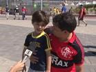 Famílias celebram Dia dos Pais no Parque Olímpico em domingo de sol