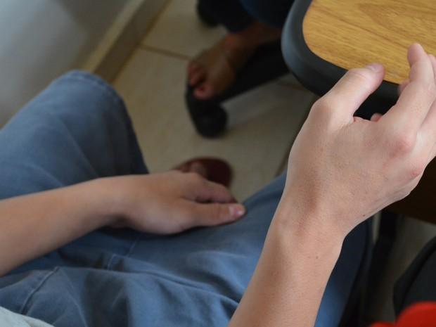 Felipe se envolveu com o tráfico de drogas e foi preso após um assalto (Foto: Adriano Oliveira/G1)