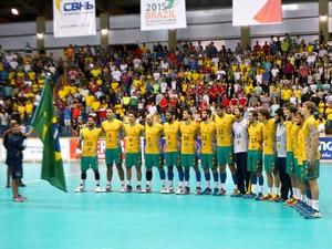 seleção brasileira mundial júnior handebol Uberaba Brasil (Foto: Alex Rocha)
