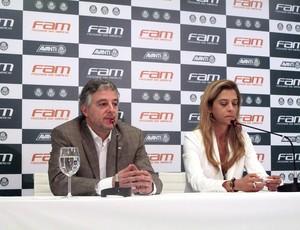 Coletiva Paulo Nobre Presidente do Palmeiras
