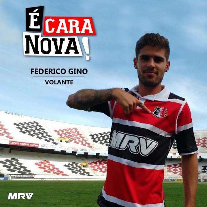 Gino Santa Cruz (Foto: Santa Cruz / Divulgação)