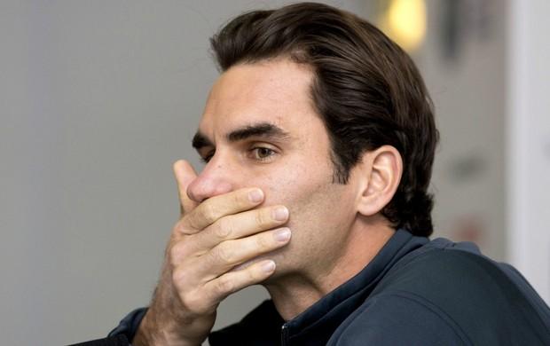 Roger Federer ATP Finals Londres (Foto: AFP)