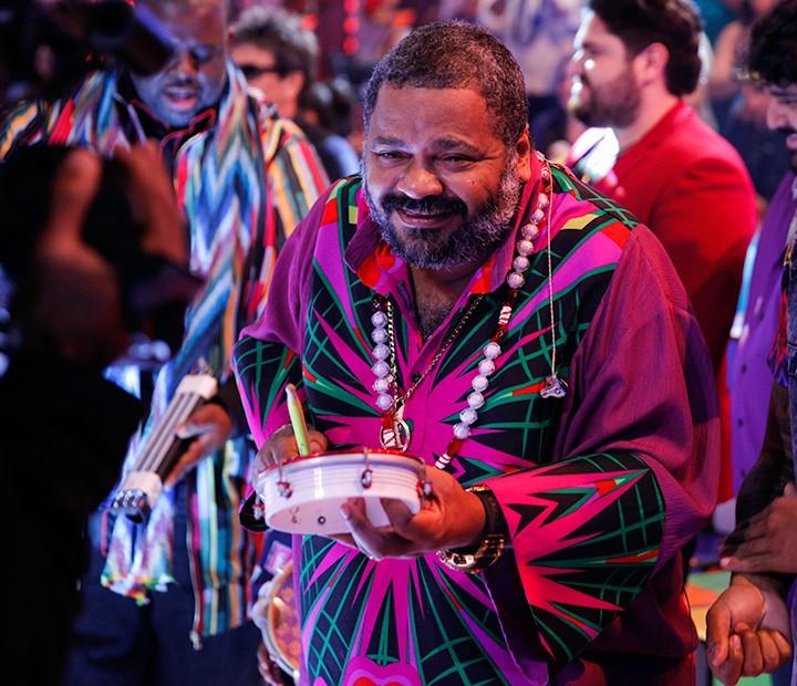 Arlindo Cruz é um dos diversos sambistas com músicas em trilhas sonoras de novelas (Foto: João Januário / TV Globo)