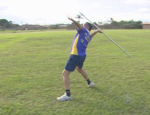 Humberto Viana, atleta master  (Foto: Globo Esporte)