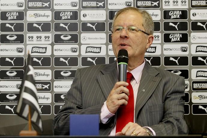 Carlos Eduardo Pereira presidente do Botafogo (Foto: Vitor Silva / SSpress)