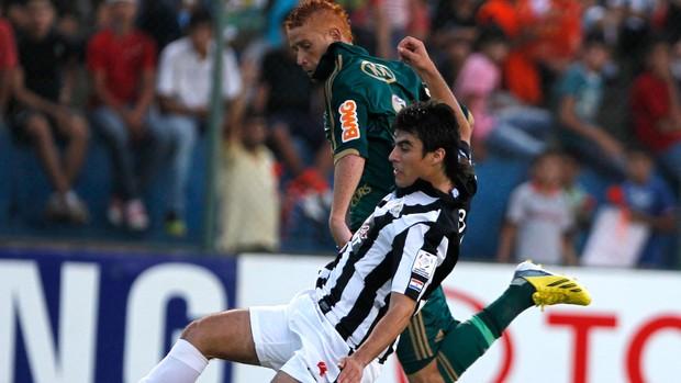 Souza, Libertad x Palmeiras (Foto: AP)