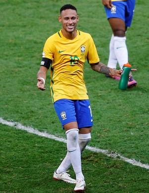 Neymar Brasil Argentina eliminatórias (Foto: Ricardo Moraes / Reuters)